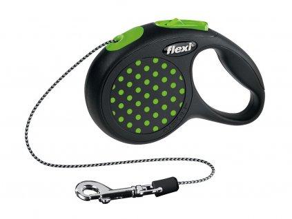 Vodítko Flexi Design XS 3 m (max 8 kg) - lanko