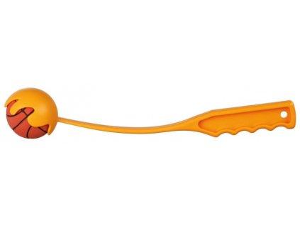Katapult MINI s mechovým míčem 6cm 30cm TRIXIE