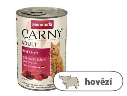 Animonda CARNY Adult – hovězí, srdce 400 g