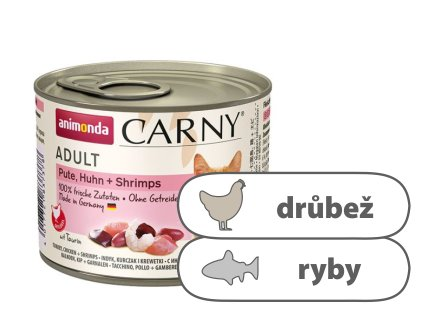 Animonda CARNY Adult – krůta, kuře, ráčci 200 g