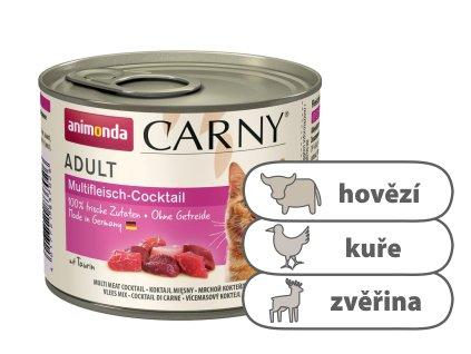 Animonda CARNY Adult – masový koktejl 200 g