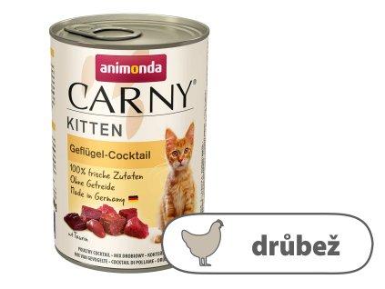 Animonda CARNY Kitten – drůbeží koktejl 400 g