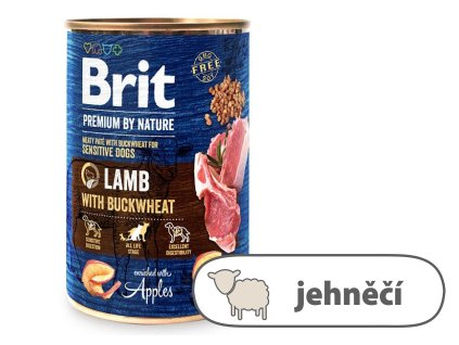 Brit Premium by Nature – Lamb with Buckwheat 400 g