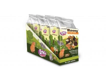 LOLOPets VITA HERBAL zeleninové plátky pro hlodavce 100g