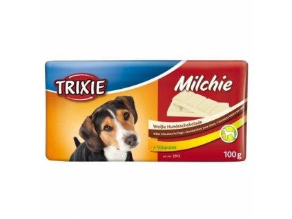 Milchie čokoláda s vitamíny bílá 100g TRIXIE