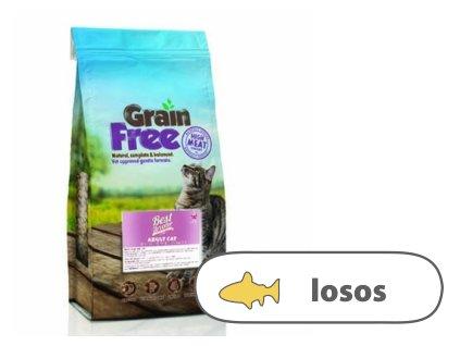 Best Breeder GF Adult Cat Freshly Prepared Salmon 7,5 kg - AKCE