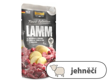 Belcando – Jehněčí s bramborami & brusinkami 125 g