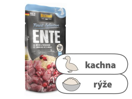 Belcando – Kachna s rýží & brusinkami 125 g