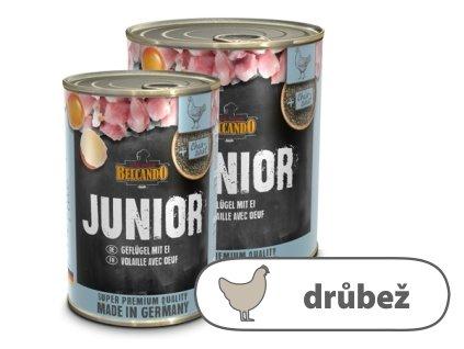 Belcando Junior drůbeží s vejci 800 g