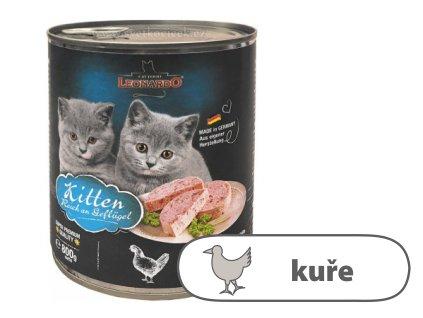 Leonardo Kitten bohaté na kuřecí maso 800 g