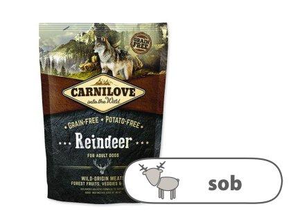 Carnilove Reindeer for adult 1,5 kg