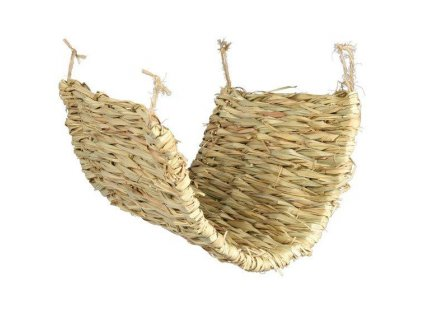 Houpačka podložka z trávy pro osmáky a krysy 40 x 28 cm