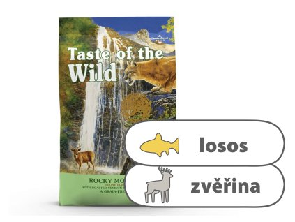 Taste of the Wild Rocky Mountain Feline 2 kg | Krmiva u Toma