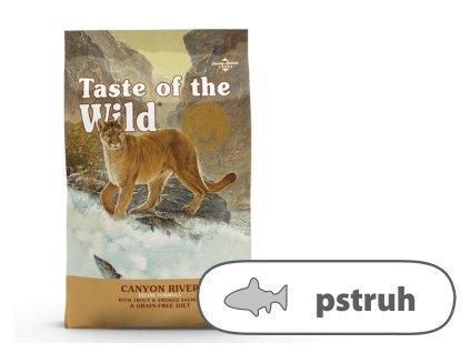 Taste of the Wild Canyon River Feline 6,6 kg | Krmiva u Toma