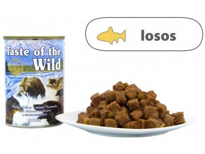 Taste of the Wild konzerva Pacific Stream 390 g