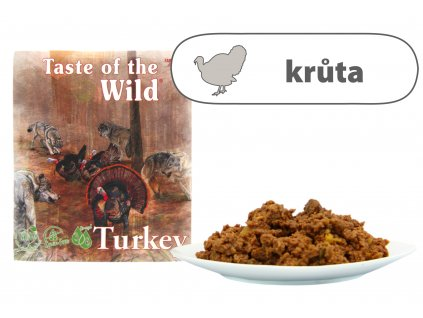 Taste of the Wild Turkey & Duck 390 g