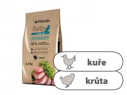 Fitmin Purity Urinary kompletní krmivo pro kočky 1,5 kg
