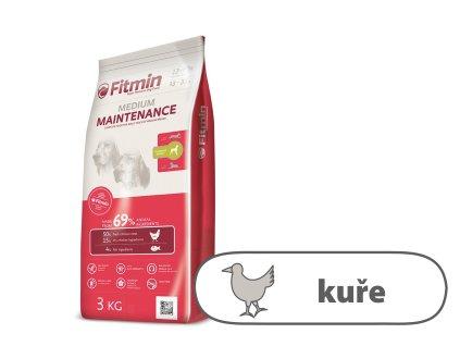 Fitmin Medium Maintenance kompletní krmivo pro psy 3 kg