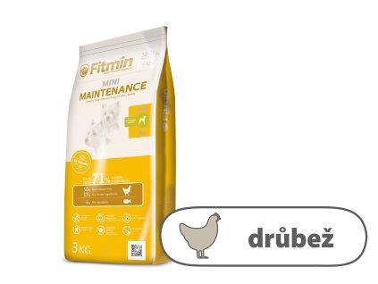 Fitmin Mini Maintenance kompletní krmivo pro psy 3 kg