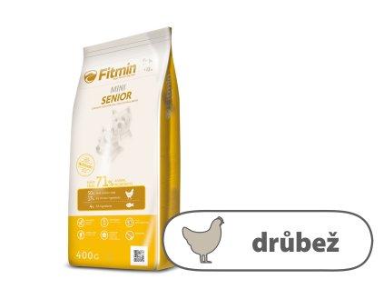 Fitmin Mini Senior kompletní krmivo pro psy 0,4 kg
