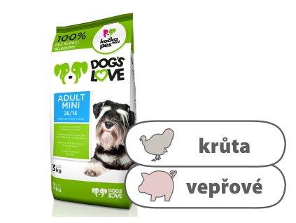 Dog's Love Adult Mini 3 kg