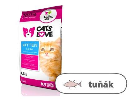 Cat's Love Kitten 1,5 Kg