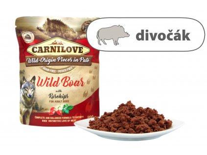 Carnilove Wild Boar štítekjpeg