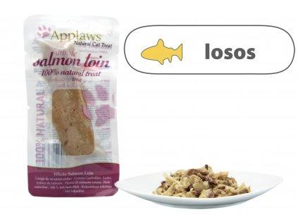 Applaws Steak přírodní filet – Losos 30 g