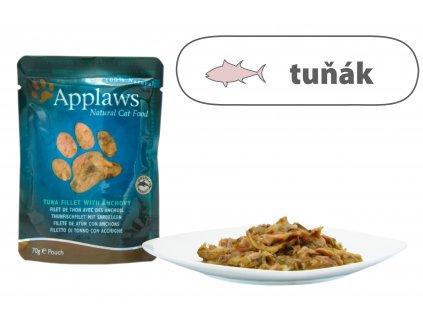 Applaws kapsička Cat – Tuňák s ančovičkami 70 g