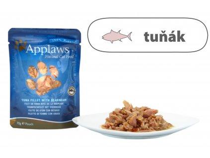 Applaws kapsička Cat – Tuňák s pražmou 70 g