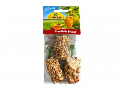 JR Birds – Kukuřičná rolka s ovocem 3 ks
