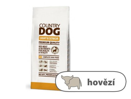 COUNTRY DOG Light & Senior 15 kg