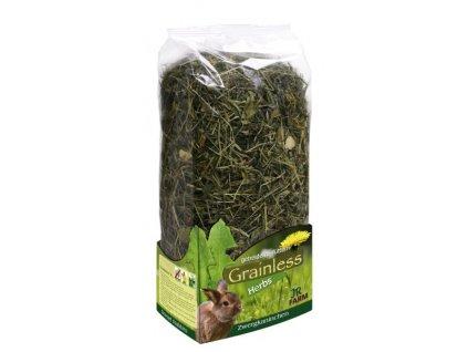 JR Farm Zakrslý králík Grainless Herbs 400 g