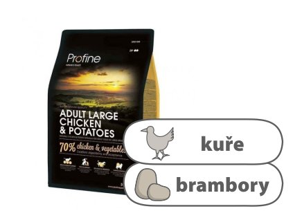Profine Adult Large Breed Chicken & Potatoes 3 kg