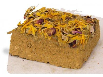 JR Farm Hliněný špalíček s květy 100 g