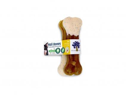 25781 blue tree kosticky z hovezi kuze s kachnou jablkem a kokosem m 100 g