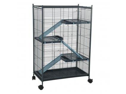 cage rongeur indoor 2 maxi loft bleu zolux profil