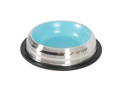 Miska nerez protiskluz pes MERENDA 1,8l modrá Zolux