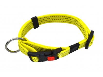 Obojek ART Sportiv – reflex 20 mm, 40 – 55 cm, žlutý