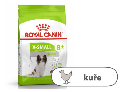 Royal Canin X-Small Adult 8+ years, 500 g