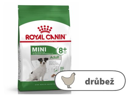 Royal Canin Mini Adult 8+ years, 8 kg