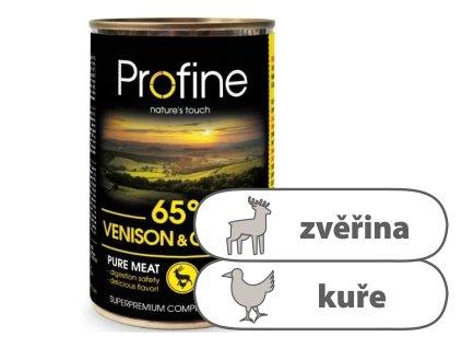 Profine Pure meat Venison & Chicken 400 g