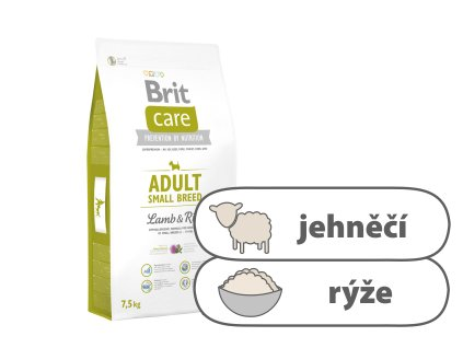 Brit Care Adult Small Breed Lamb and Rice 7,5 kg