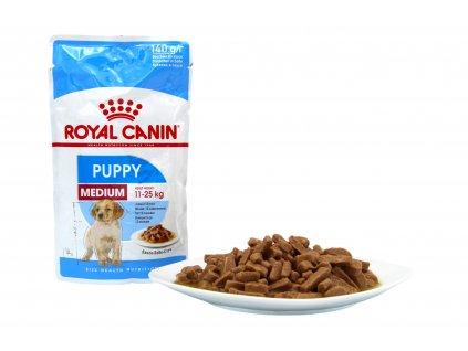 Royal Canin Medium Puppy pro psy 140 g