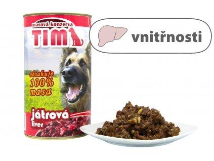 TIM dog játrová 1200 g