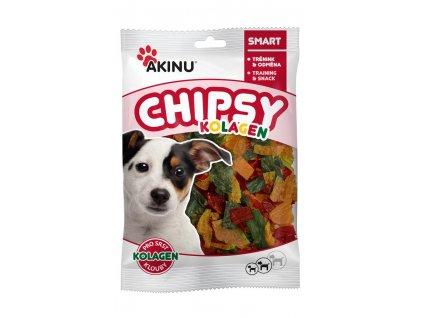 Akinu Kolagen chipsy 60g