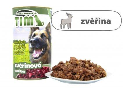 TIM dog zvěřinová 1200 g
