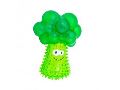 Akinu hračka TPR brokolice pro psy 14cm