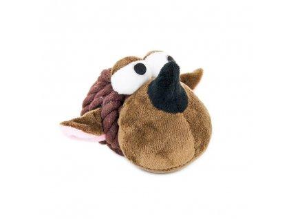 Akinu opice uzel bavlna plyš pro psy 10cm