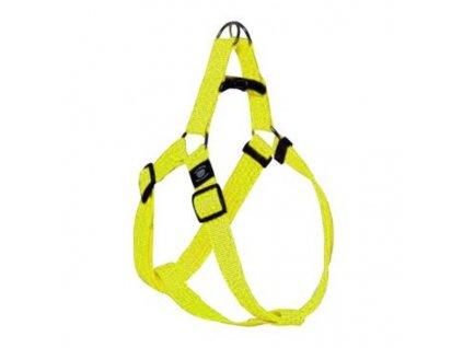 Postroj nylon ART Sportiv reflex 25 45 15 Žlutý KAR